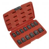 "AK5613TD Impact Socket Set 13pc 1/2""Sq Drive Total Drive - Ideal for Brake Caliper Carrier Bolts!"